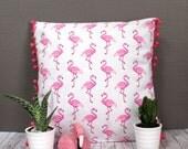 Coussin Flamingos