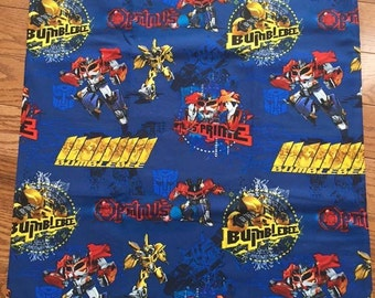 Transformers pillowcase