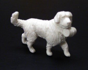 1:25 G scale model St. Bernard alpine rescue dog figure