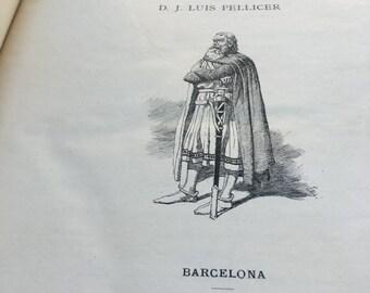 The legend of el Cid. Spectacular book of the century XIX