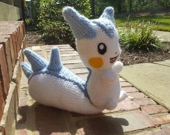 Crochet Pachirisu Plush