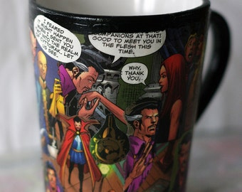 Doctor Strange Mug, Comic Book Mug, Marvel Mug
