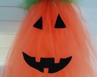 Pumpkin Tulle Halloween Dress
