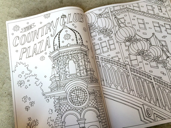 Color Me Kansas City Themed Coloring Book For All Ages
