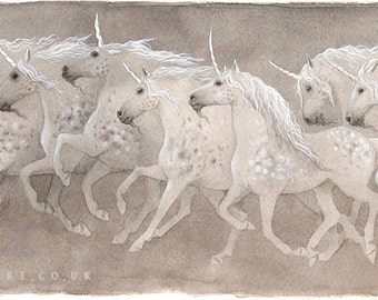 The Magnificent Seven - Limited Edition Giclee Print
