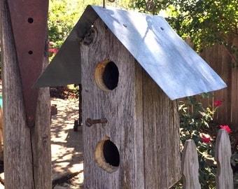 Rustic Birdie House