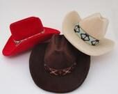Cowboy Hat Ring Box