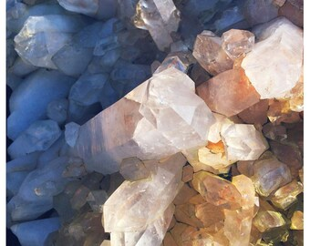 Crystal - Quartz - Gem - Jewel - Fine Art Photograph - Nature Photography - Autumn - Nature Photograph - Bock - Quartz Crystal