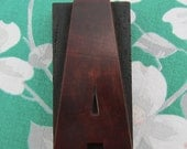 Letter A Antique Letterpress Wood Type Printers Block