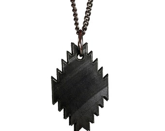 Recycled Vinyl Record Pendelton Pendant Necklace