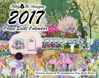 2017 Crazy Quilt Calendar