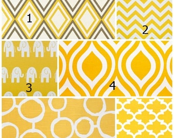 Custom Drapery Panels Yellow Hues | Window Curtain Panels Treatments | Home Accessories