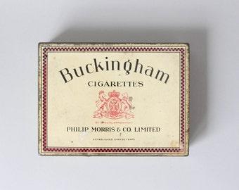Vintage tobacco tin