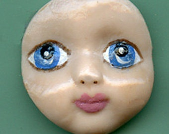Polymer Blue Eyed Baby Face BB 2