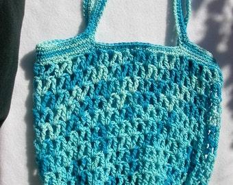 Blues Market Bag, Tote, Beach Bag, Carrier