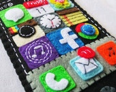 You've mail iPhone Pocket Cozy for iPhone 6, iPhone 6 plus, Android smartphones with Instagram, Facebook, iTunes, Chrome apps