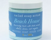 Beach House Whipped Soap Sugar Scrub - vegan and cruelty free