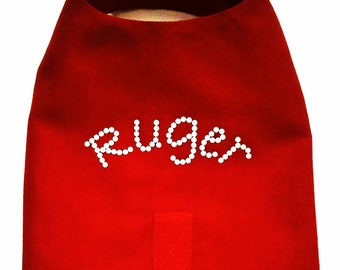 Dog Harness Vest Custom Fit and personalized with your dog or cat name