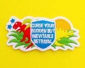 Firefly Iron On Patch - Curse Your Sudden But Inevitable Betrayal - Serenity Firefly Patch