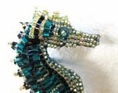 Sea Horse  Custom Made Brooch or Pendant