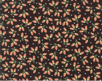 Chestnut Street - Cotton Puffs in Chalkboard: sku 20275-17 cotton quilting fabric by Fig Tree and Co. for Moda Fabrics - 1 yard