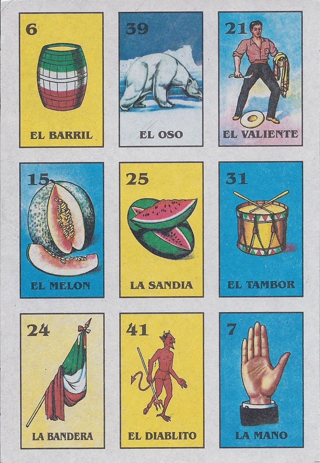 Impeccable image pertaining to free printable mexican loteria cards