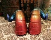 On Sale: Rainbow Ram Fairy Costume Horns - Made to Order