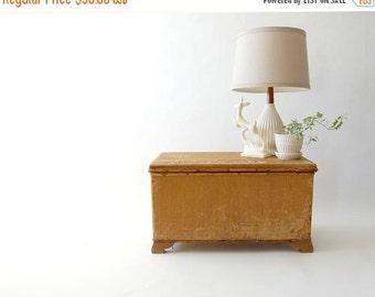sale Handmade Vintage Primitive Trunk - coffee table, storage, crate