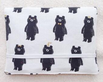 Crayon Wallet // Bear Hug by Sarah Watts