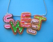 Sugary Sweet Christmas Cookies Necklace