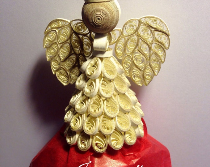 Touched with Gold, Golden Quilled Angel