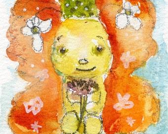 Marmalade butterfly - 2.5x4 original