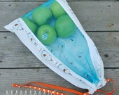 Reusable Produce Bag - Fish in Bags - from green by mamamade