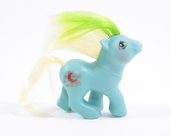 My Little Pony Custom Moon Dancer Baby Pony Kitbash  ~ Pink Room ~ 160912