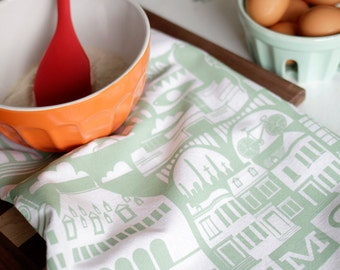 RICHMOND  tea towel