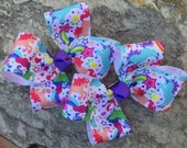 Unicorn Hair Bows,Pigtail Hair Bows,Toddler Hair Bows,French Barrettes