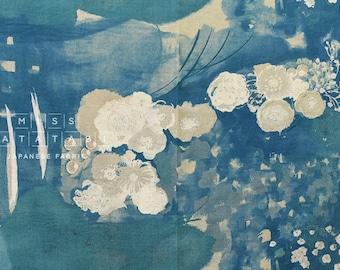 Nani Iro Kokka Japanese Fabric Komorebi - old film - 50cm