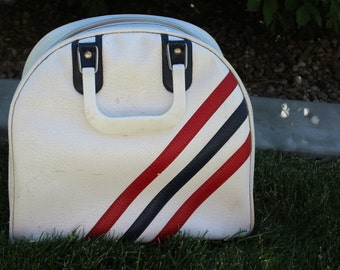 VINTAGE patrotic colors AMF brand bowling ball bag