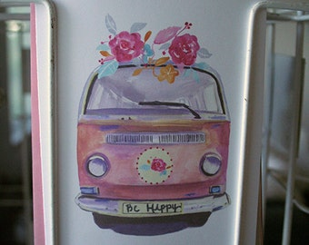 Be Hippy - Greeting Card