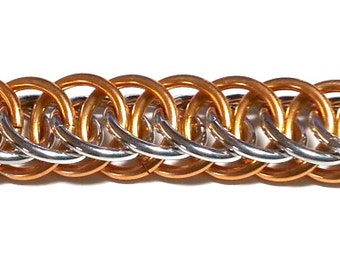 Half Persian 4 in 1 Chainmaille Tutorial with Easy Start