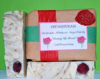 Coming Up Roses Soap