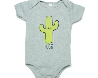 Cactus Hug Baby Onesie ON SALE