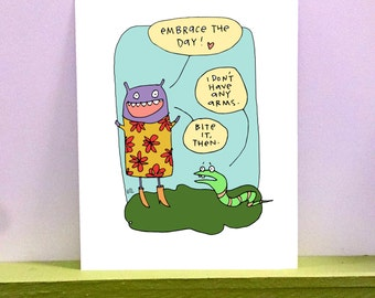 Embrace the Day - giclee print