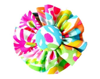 Fabric FLOWER Add on: Made from Lilly Pulitzer LOVERS CORAL Fabric