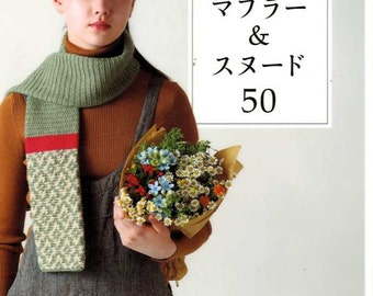 MUFFLERS and SNOODS 50 - Japanese Craft Book