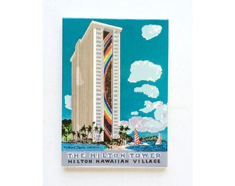 1968 Millard Sheets - Vintage Hawaii Tile - 1960s Hawaii