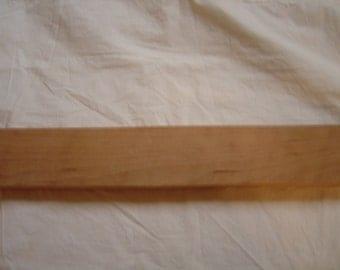 "Cherry Wood Mandolin Cigar Box Guitar Neck Blank 25"" x 2 3/4"" x 1  1/16"""