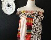 Will fit size XS / S - READY to MAIL - Balloon Tube Top - by Boutique Mia