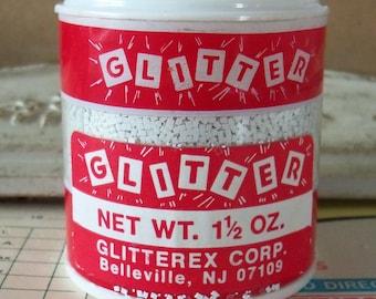 Vintage Glitter / 1 1/2 oz. / White / Glitterex Corp.