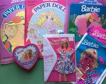 90s Barbie Bundle, Paper Dolls, Candy Tin, Party Loot Bags, Easter Card, Vintage, Barbie Lover, Vintage Doll, Vintage Barbie Doll